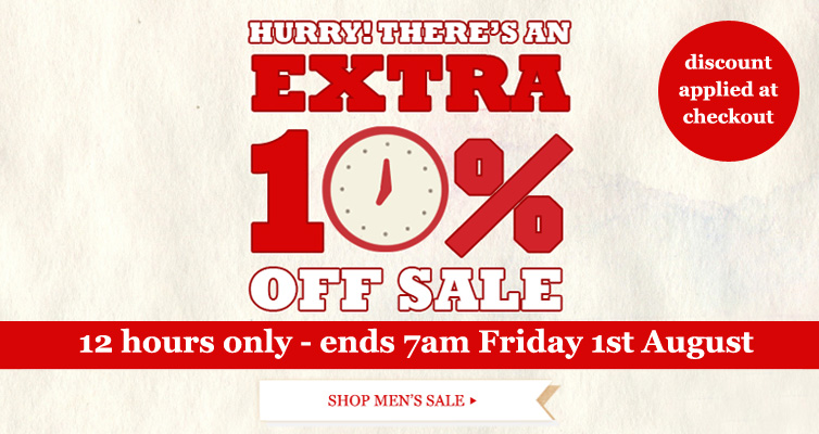 Get an extra 10% off sale