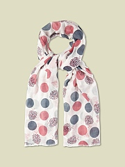 APPLE PRINT SCARF