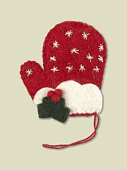 FELT MITTEN DECORATION