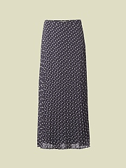FLORINE PLEAT MAXI SKIRT