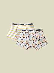 SPARROW PRINT BOXER 2 PACK