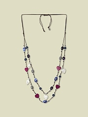 DREAMERS DOUBLE ROW NECKLACE