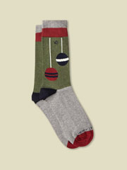 COTTON BAUBLE SOCK